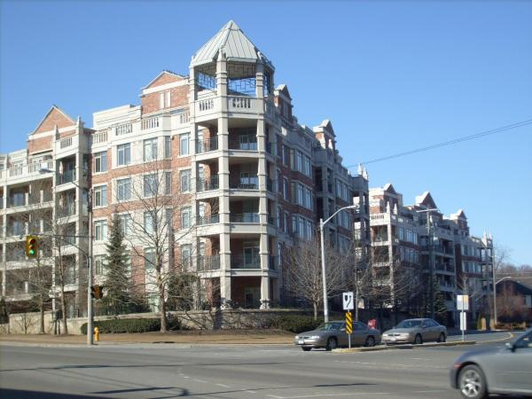 Kensington at The Old Mill, 10 and 12 Old Mill Trail, west Toronto, Luxury condos, The Kingsway