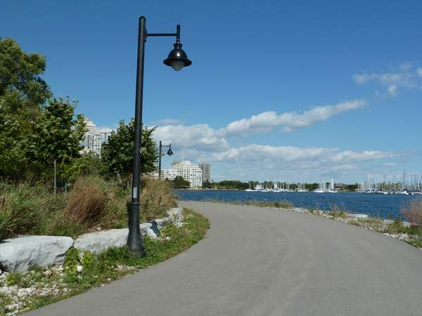 Mimico Linear Waterfront Trail west-end Toronto