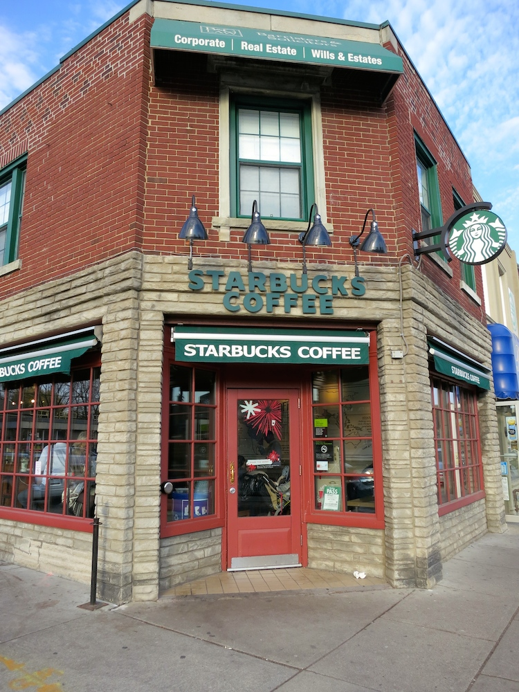 Starbucks, The Kingsway, Network Lofts, Condos, west toronto real estate
