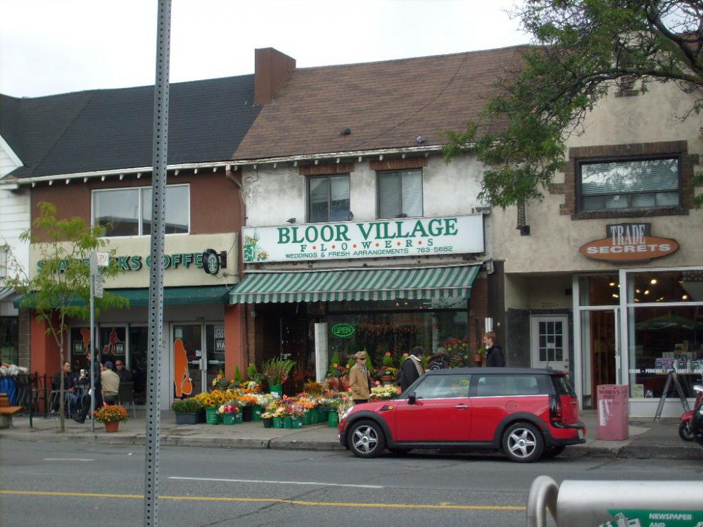 The Bloor West Village, west Toronto real estate