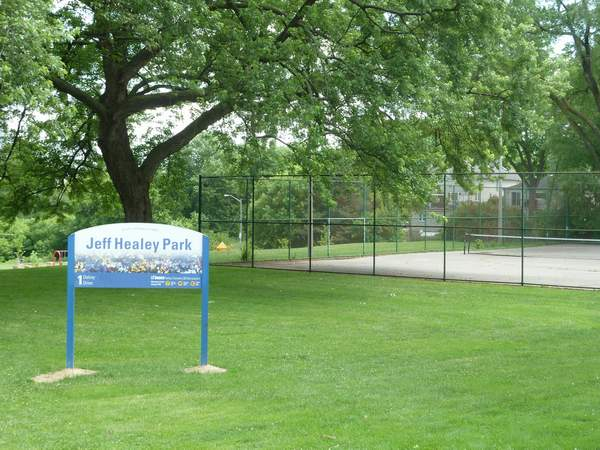 Jeff Healey Park Stonegate-Queensway west Toronto